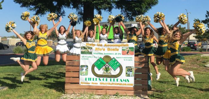 Rio Athletic Fields of Dream - Cheer Squad